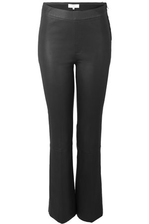 Dante 6 Leather Tyson Regulare Flare Trousers , Femme, Taille: L