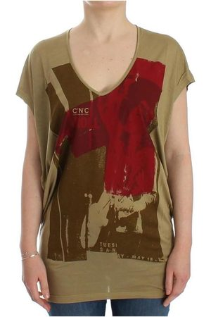 Costume National Femme Manches courtes - Print shortsleeve t-shirt , Femme, Taille: XS