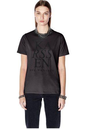 Zoe Karssen Holly ZK Logo Regular Fit Tee , Femme, Taille: XL
