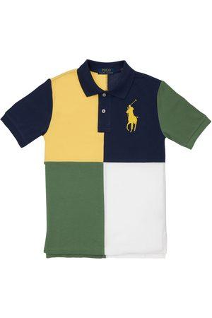Ralph Lauren Polo En Piqué De Coton Color-block