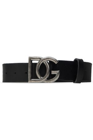 Dolce & Gabbana Leather belt , Homme, Taille: 90 cm