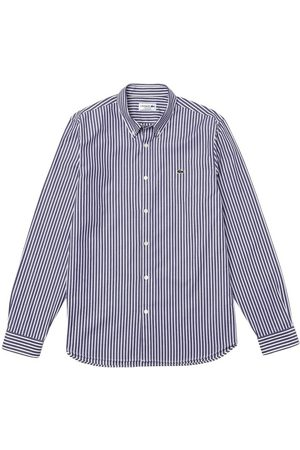 Lacoste Camicia a Righe , Homme, Taille: 42