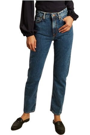 Nudie Jeans Breezy Britt regular tapered jeans , Femme, Taille: W30