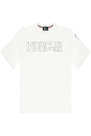 Moncler T-shirt with logo , Femme, Taille: S