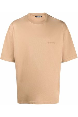 Balenciaga Homme Débardeurs - T-shirt à logo brodé