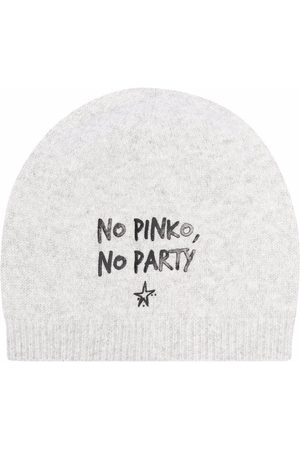 Pinko Femme Bonnets - Bonnet à slogan imprimé