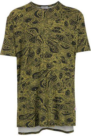 Amir Slama T-shirt en coton à imprimé abstrait