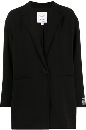 Armani Exchange Femme Vestes - Blazer à patch logo