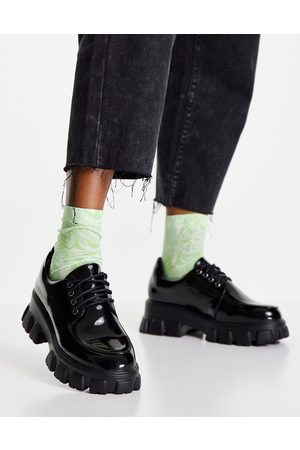 Glamorous Chaussures chunky à lacets