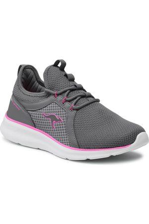 KangaROOS Femme Chaussures - Chaussures - Kj-Skip 39209 000 2202 Steel Grey/Neon Pink