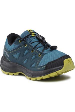 Salomon Chaussures - Ili Pika J 408151 08 W0 Mallard Blue/Reflecting Pond/Citronelle