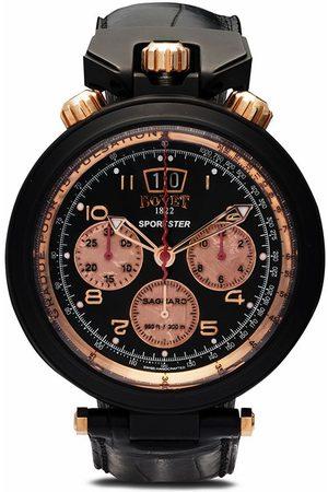 Bovet Homme Montres - Montre chronographe Sportster Saguaro 46 mm