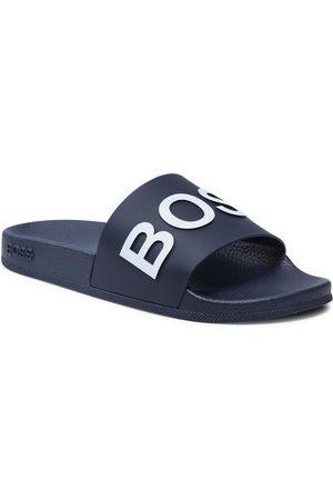 HUGO BOSS Mules / sandales de bain - Bay 50425152 10224455 01 Dark Blue 405