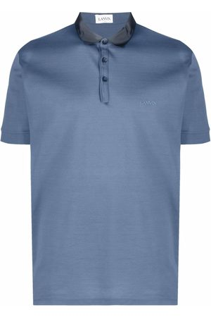 Lanvin Homme Polos - Polo à logo brodé