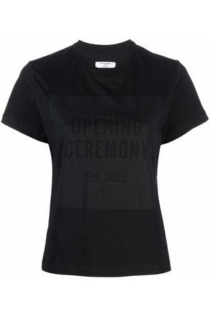 Opening Ceremony BOX LOGO FEM T-SHIRT BLACK BLACK