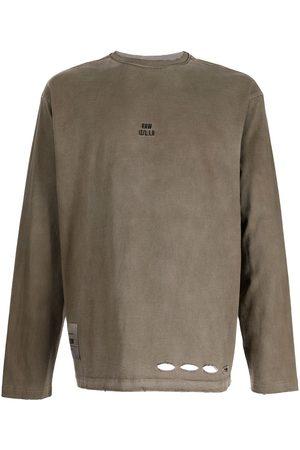 Izzue Homme Débardeurs - T-shirt à détails de perforations