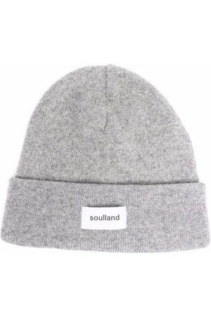 Soulland Bonnet Villy à logo imprimé