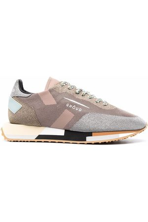 Ghoud Femme Baskets - Shimmer panelled colour block sneakers