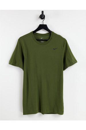 Nike Training Dri-FIT - T-shirt - Kaki