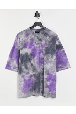 ASOS T-shirt oversize en tissu éponge effet tie-dye