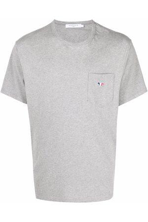 Maison Kitsuné T-shirt à logo brodé