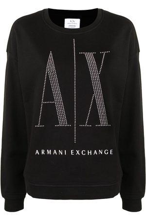 Armani Sweat à logo clouté