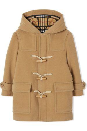 Burberry Garçon Manteaux longs - Duffle-coat en laine