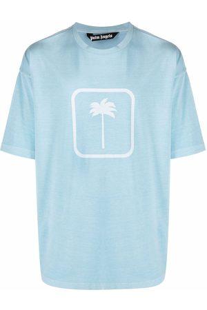 Palm Angels PXP Tonal Palm Tree-print T-shirt