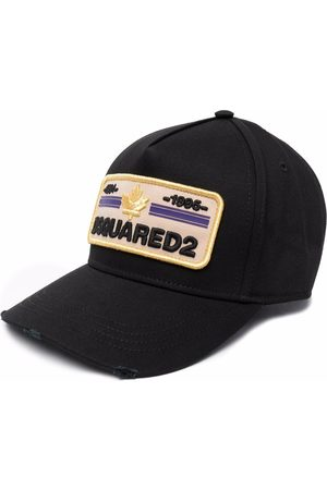 Dsquared2 Homme Bonnets - Logo-embroidered baseball cap