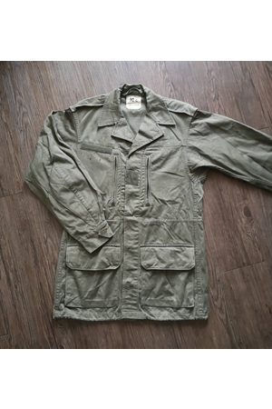 AnciennementModern Classic French Army Combat Jacket M64/Vintage Satin 300 Militaria 60S