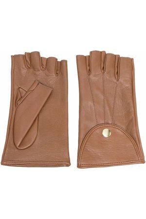 Manokhi Femme Gants - Fingerless leather gloves