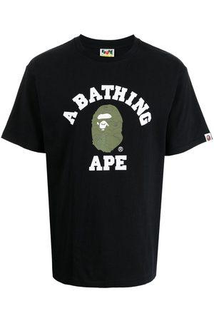 A Bathing Ape Homme Débardeurs - T-shirt à logo imprimé
