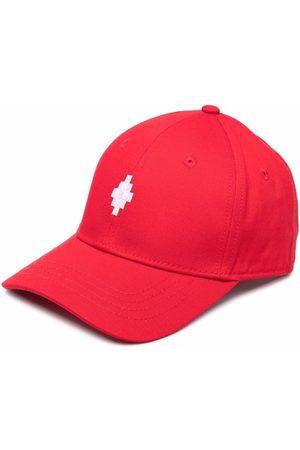 MARCELO BURLON Logo embroidered cap