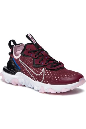 Nike Chaussures - React Vision (Gs) CD6888 600 Dark Beetroot/Metallic Silver