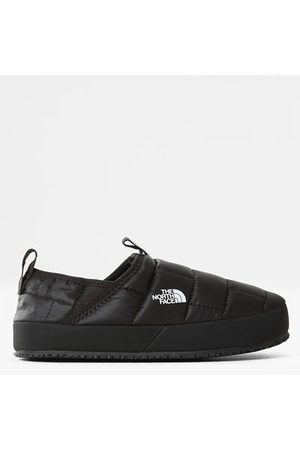 The North Face Fille Chaussons - Pantoufles Thermoball™ Traction Ii Pour Enfant Tnf Black/tnf White Taille 32