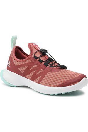 Salomon Chaussures - Sense Flow 2 W 412742 20 W0 Brick Dust/White/Pastel Turquoise