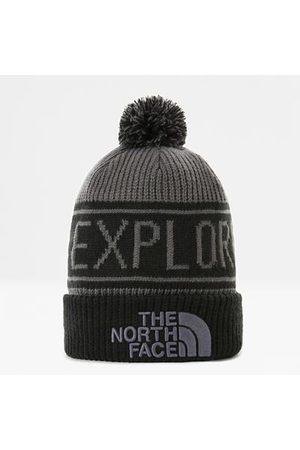 The North Face Bonnet Retro Tnf Avec Pompon Vanadis Grey/tnf Black Taille Taille Unique