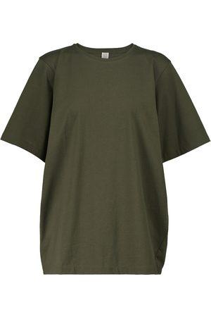 Totême T-shirt oversize en coton biologique