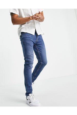 Topman Homme Skinny - Jean skinny stretch - Délavage moyen