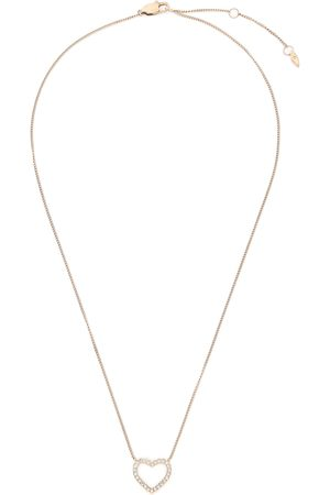 Fossil Collier - Open Hearted JF03086791 Gold