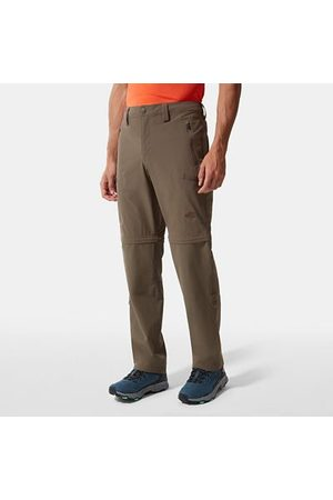 The North Face Pantalon Convertible Exploration Pour Homme Weimaraner Brown Taille 34 Long