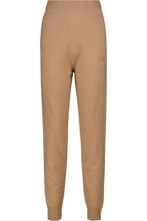 Max Mara Pantalon de survêtement Delta en laine et cachemire