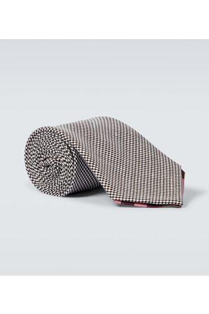 BRAM Cravate Manarola en laine et lin