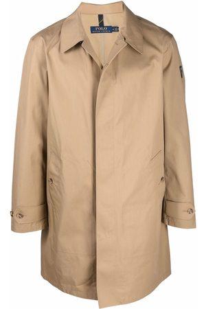 Polo Ralph Lauren Homme Manteaux longs - Logo-patch button-up coat