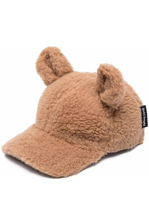 Palm Angels PALM ANGELS BEAR FUNNY CAP BROWN BROWN