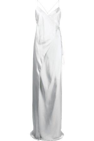 Michelle Mason Robe portefeuille en soie