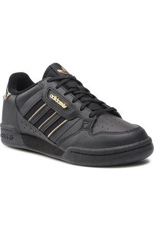 adidas Fille Chaussures basses - Chaussures - Continental 80 Stripes J H03943 Cblack/Cblack/Goldmt