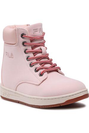 Fila Fille Bottes de neige - Bottes de randonnée - Bohemian Mid Jr 1011087.70D Peach Blush