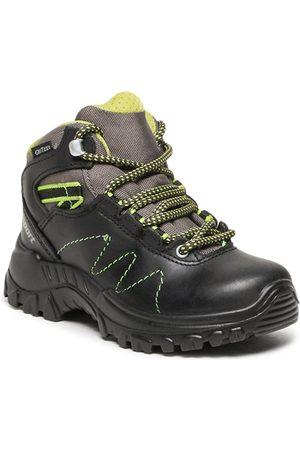 Grisport Garçon Chaussures - Chaussures de trekking - 9394PV15G Nero Pecos