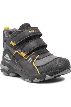 Geox Garçon Bottines - Boots - J Buller B.B Abx A J169WA 0MEFU C9241 M Black/Dk Yellow